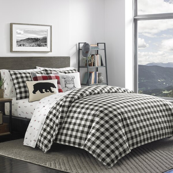 Mountain 100% Cotton Reversible Comforter Set by E